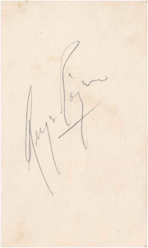 Image 1 for Ginger Rogers - Autograph - HFSID 343119