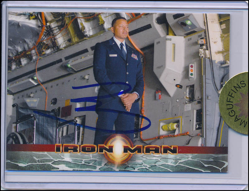 Image 1 for Terrence Howard - Trading/Sports Card Signed - HFSID 343291