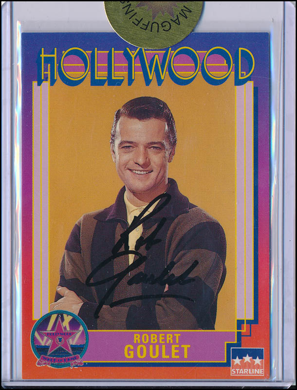 Image 1 for Robert Goulet - Trading/Sports Card Signed - HFSID 343308