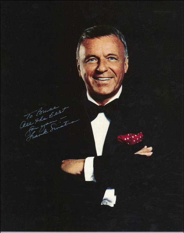8ceff4a8c2bf FRANK SINATRA - INSCRIBED PHOTOGRAPH SIGNED - DOCUMENT 343319