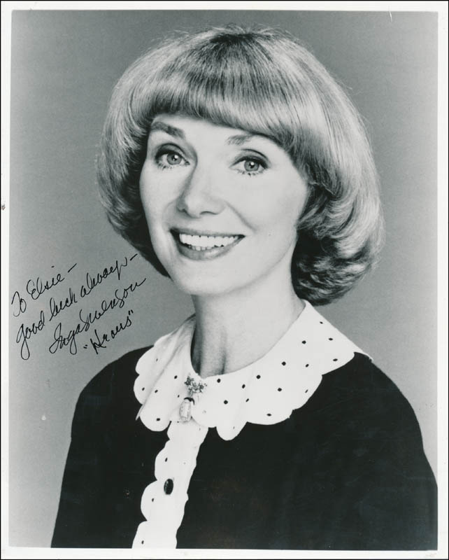 Image 1 for Inga Swenson - Autographed Inscribed Photograph - HFSID 343341