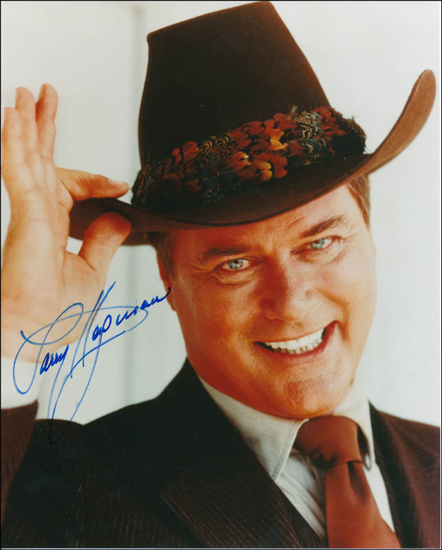 Image 1 for Larry Hagman - Autographed Signed Photograph - HFSID 343401