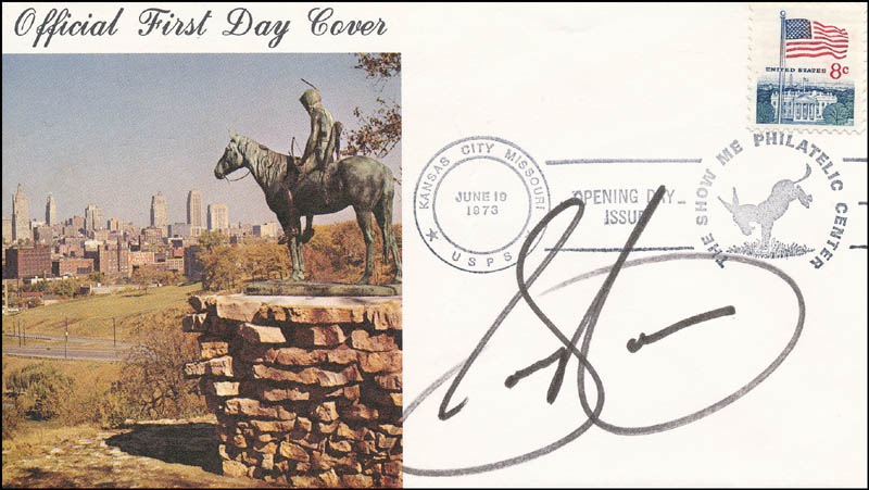 Image 1 for Sammy Cahn - First Day Cover Signed - HFSID 343567
