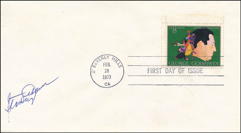 Image 1 for Stanley Adams - First Day Cover Signed - HFSID 343572