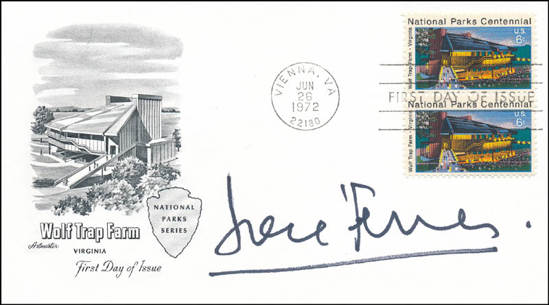 Image 1 for Jose Ferrer - First Day Cover Signed - HFSID 343653