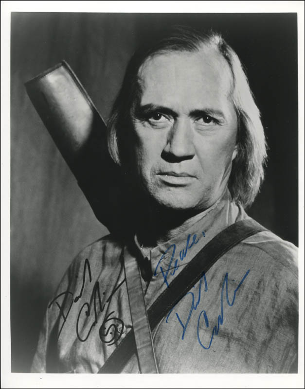 Image 1 for David Carradine - Autographed Signed Photograph - HFSID 343732