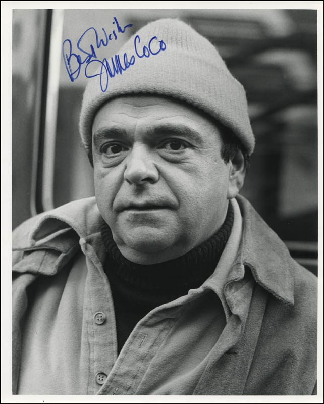Image 1 for James 'Jimmy' Coco - Autographed Signed Photograph - HFSID 344026