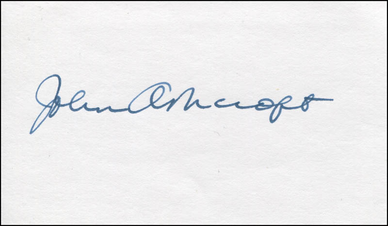 Image 1 for John Ashcroft - Autograph - HFSID 344090