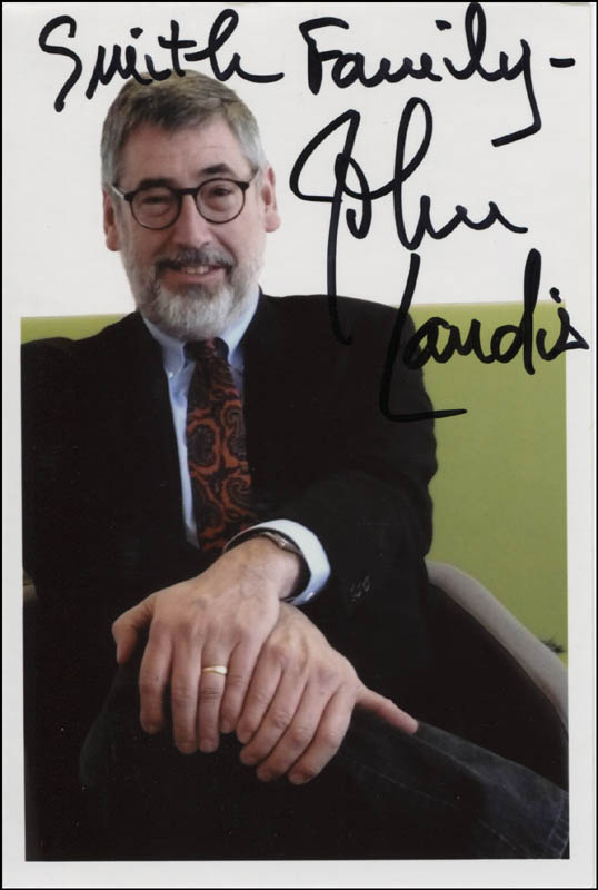 Image 1 for John Landis - Autographed Inscribed Photograph - HFSID 344372