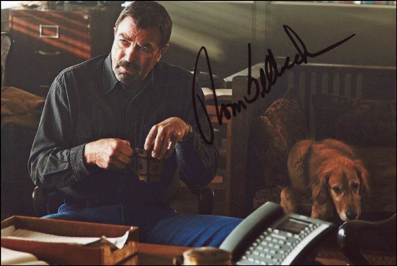 Image 1 for Tom Selleck - Autographed Signed Photograph - HFSID 344447