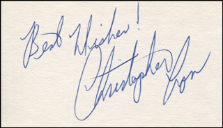Image 1 for Christopher Cross - Autograph Sentiment Signed - HFSID 344498