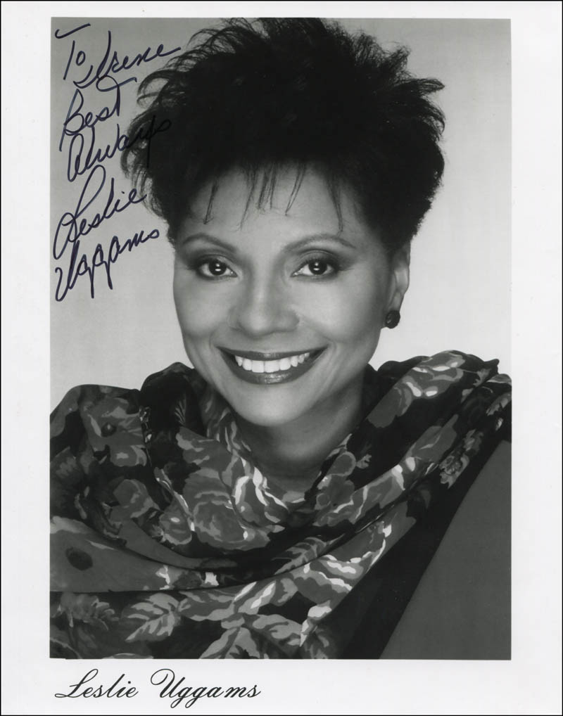 Image 1 for Leslie Uggams - Inscribed Printed Photograph Signed In Ink - HFSID 344514