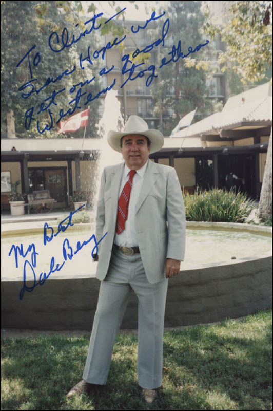 Image 1 for Dale Berry - Autographed Inscribed Photograph - HFSID 344582