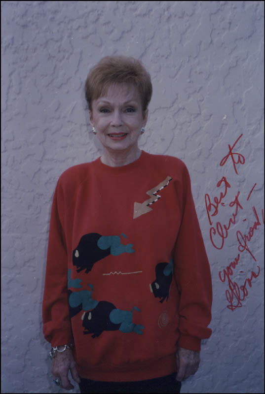 Image 1 for Gloria Henry - Autographed Inscribed Photograph - HFSID 344606