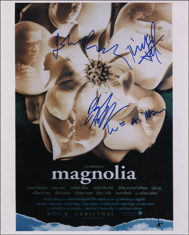 Image 1 for Magnolia Movie Cast - Autographed Signed Photograph with co-signers - HFSID 344644