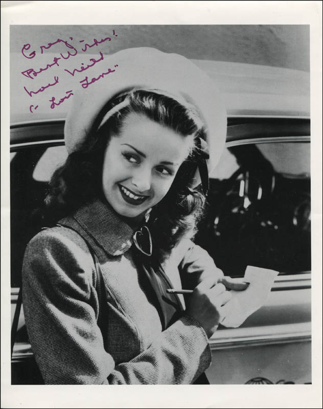 Image 1 for Noel Neill - Autographed Inscribed Photograph - HFSID 344665