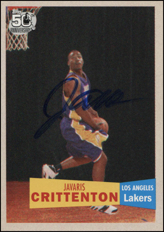 Image 1 for Javaris Crittenton - Trading/Sports Card Signed - HFSID 344801