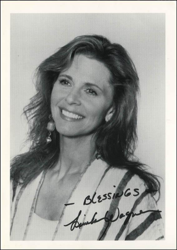 Image 1 for Lindsay Wagner - Autographed Signed Photograph - HFSID 344818