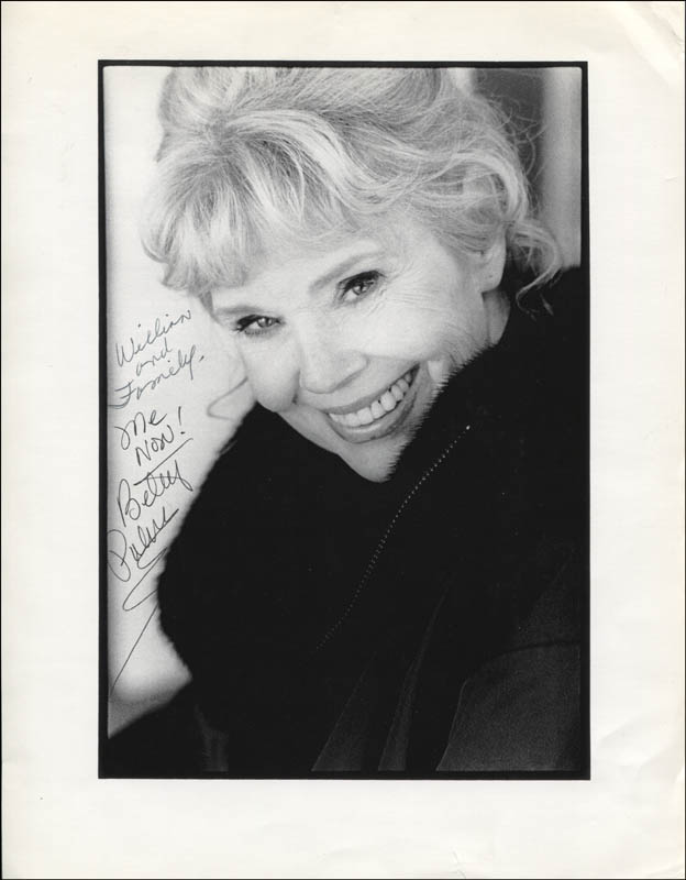 Image 1 for Betsy Palmer - Autographed Inscribed Photograph - HFSID 344896