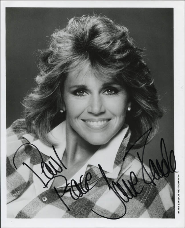 Image 1 for Jane Fonda - Inscribed Printed Photograph Signed In Ink - HFSID 344919