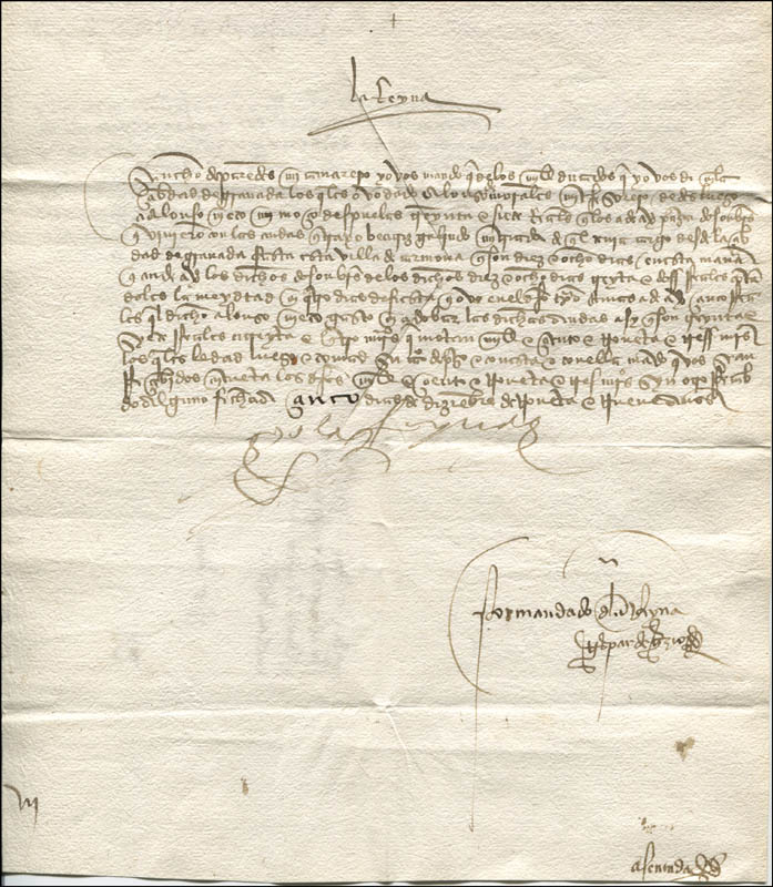 Christopher Columbus Letter To King Ferdinand.King Ferdinand V Spain Collection With Queen Isabella I