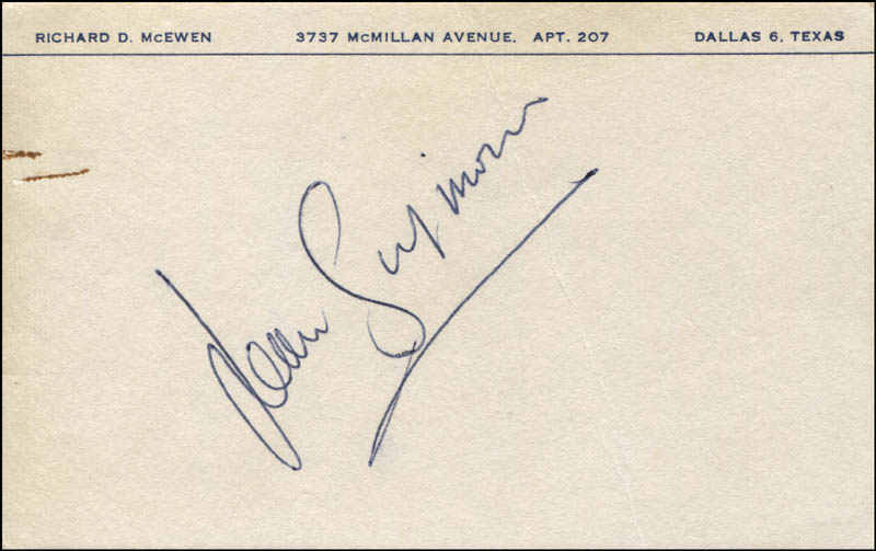 Image 1 for Jean Simmons - Autograph - HFSID 344964