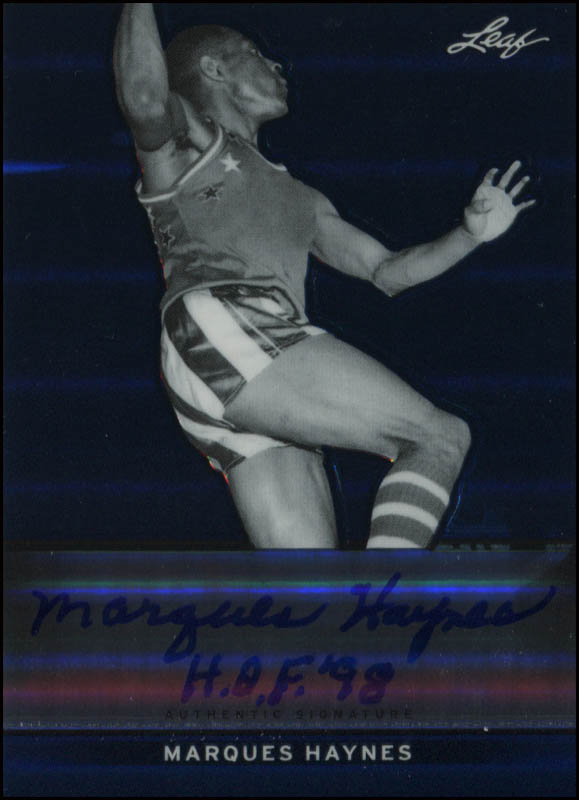 Image 1 for Marques Haynes - Trading/Sports Card Signed - HFSID 345050