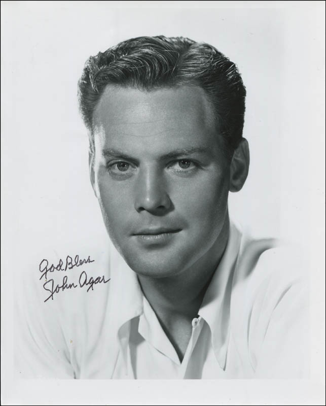 Image 1 for John Agar - Autographed Signed Photograph - HFSID 345056