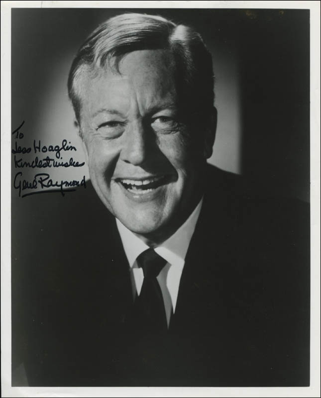 Image 1 for Gene Raymond - Autographed Inscribed Photograph - HFSID 345210