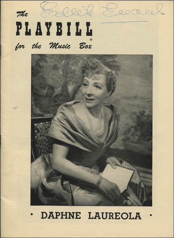 Image 1 for Dame Edith Evans - Show Bill Signed - HFSID 345227
