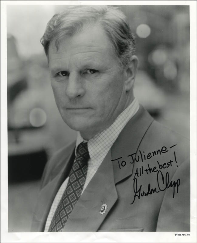 Image 1 for Gordon Clapp - Autographed Inscribed Photograph - HFSID 345284