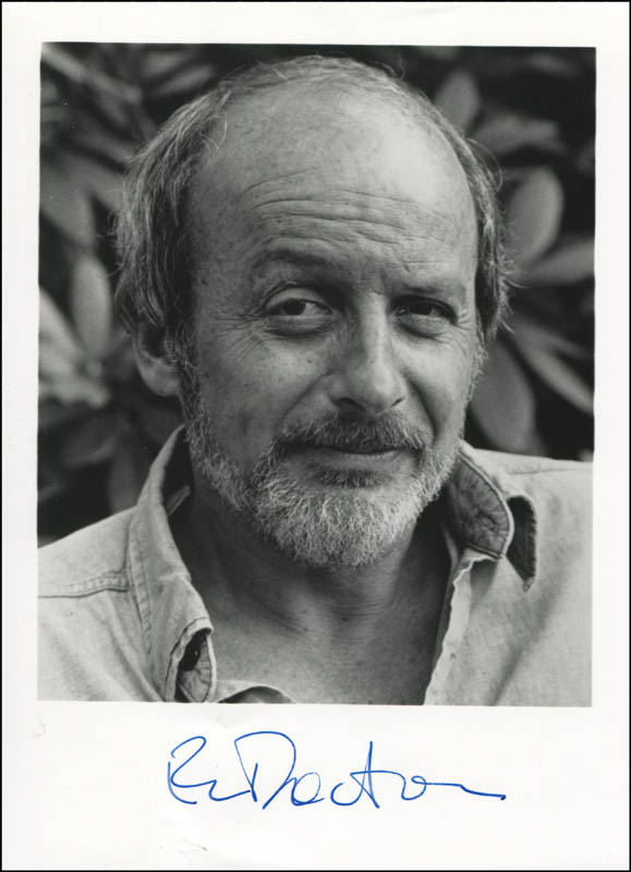Image 1 for E. L. (Edgar Lawrence) Doctorow - Autographed Signed Photograph - HFSID 345301