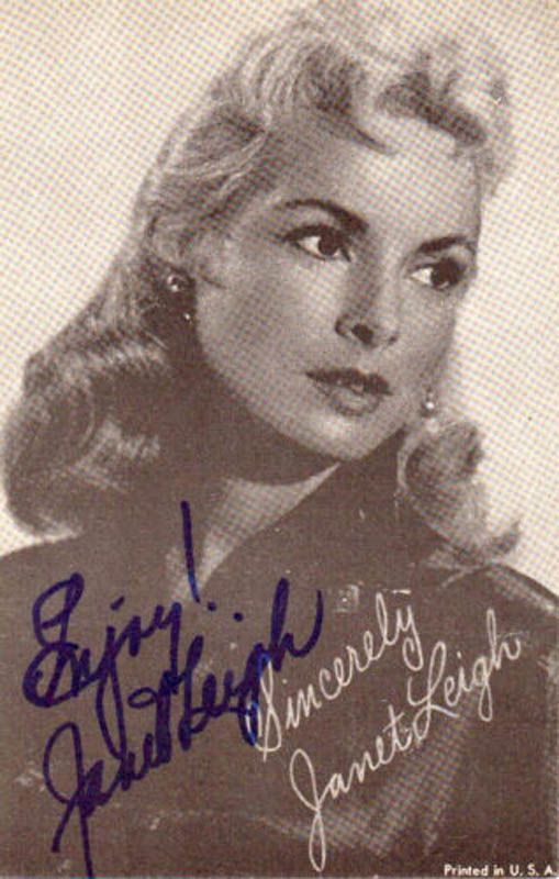 Image 1 for Janet Leigh - Autographed Signed Photograph - HFSID 345399