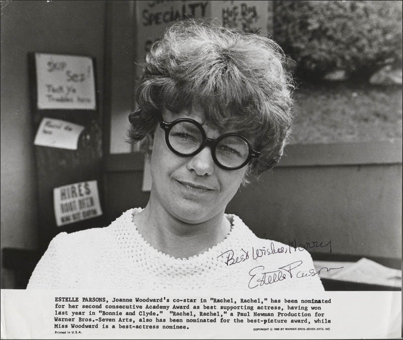 Image 1 for Estelle Parsons - Printed Photograph Signed In Ink - HFSID 345409