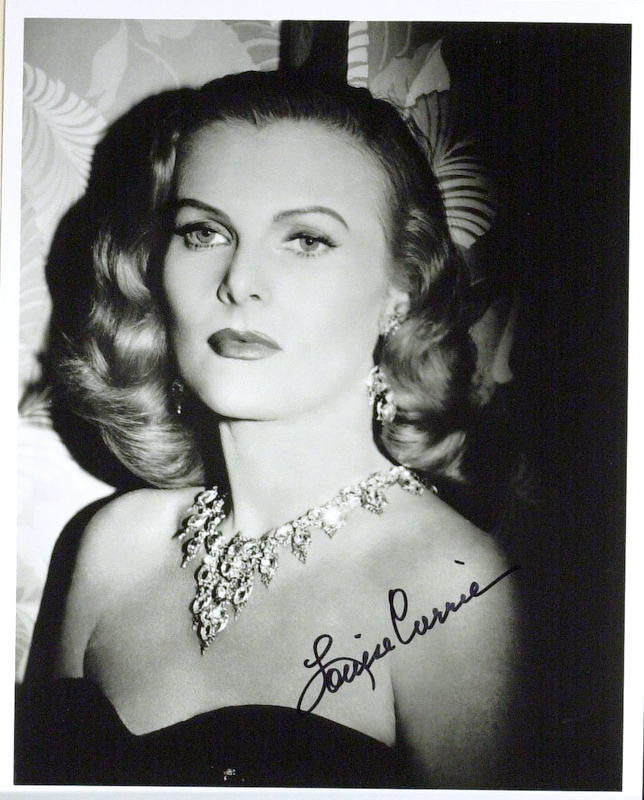 Image 1 for Louise Currie - Autographed Signed Photograph - HFSID 345411