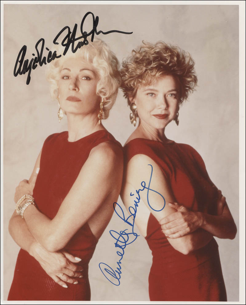 Image 1 for The Grifters Movie Cast - Autographed Signed Photograph co-signed by: Anjelica Huston, Annette Bening - HFSID 345640