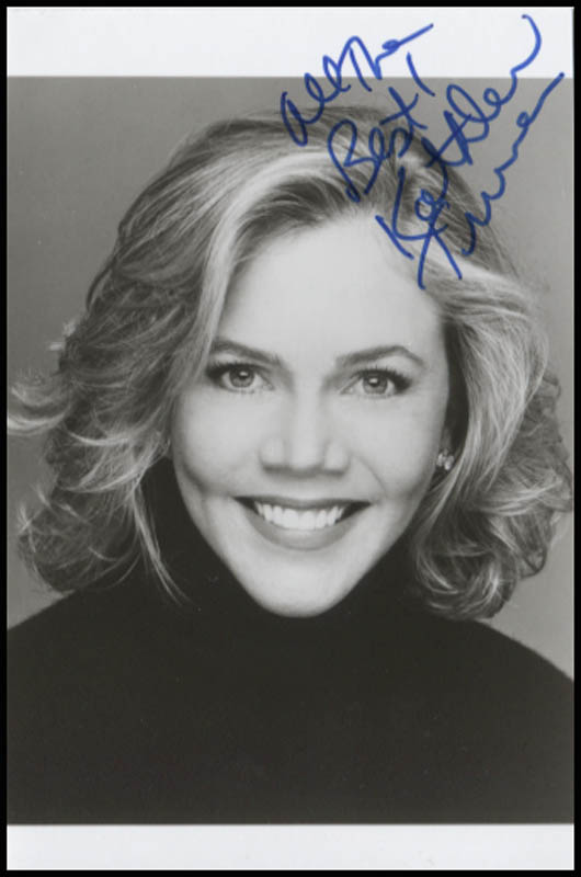 Image 1 for Kathleen Turner - Autographed Signed Photograph - HFSID 345660