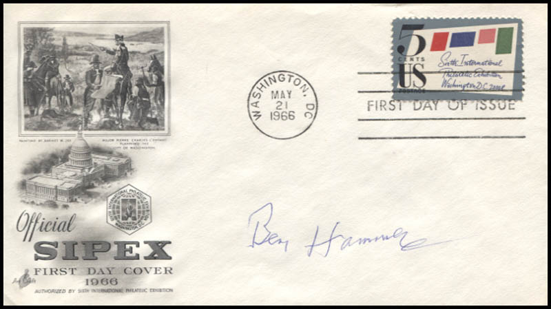 Image 1 for Ben Hammer - First Day Cover Signed - HFSID 345675