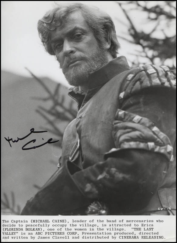 Image 1 for Michael Caine - Printed Photograph Signed In Ink - HFSID 345975