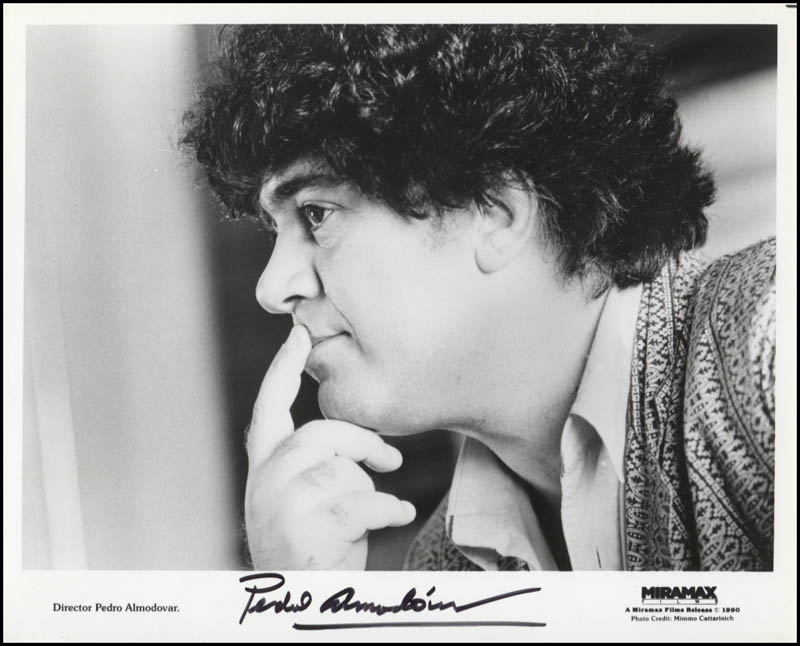 Image 1 for Pedro Almodovar - Printed Photograph Signed In Ink - HFSID 345977