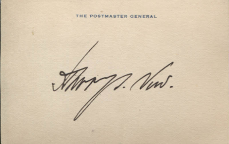 Image 1 for Harry S. New - Autograph - HFSID 346144