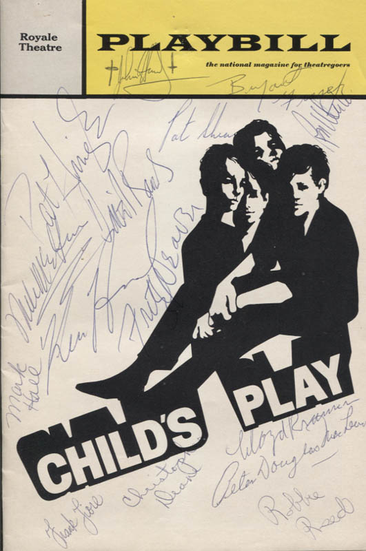 Image 1 for Child'S Play Play Cast - Show Bill Signed with co-signers - HFSID 346146