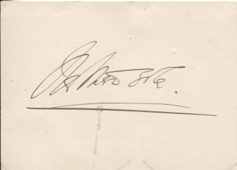 Image 1 for Olga Nethersole - Autograph - HFSID 346171