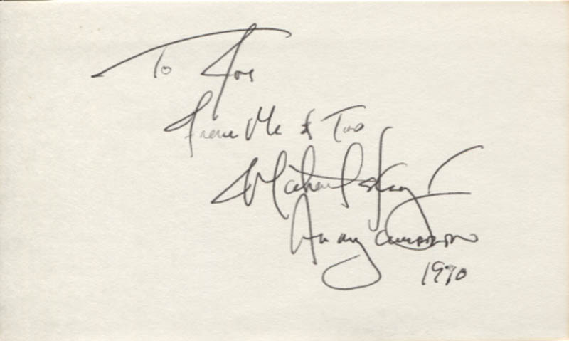 Image 1 for Michael E. Knight - Autograph Note Signed 1990 - HFSID 346212