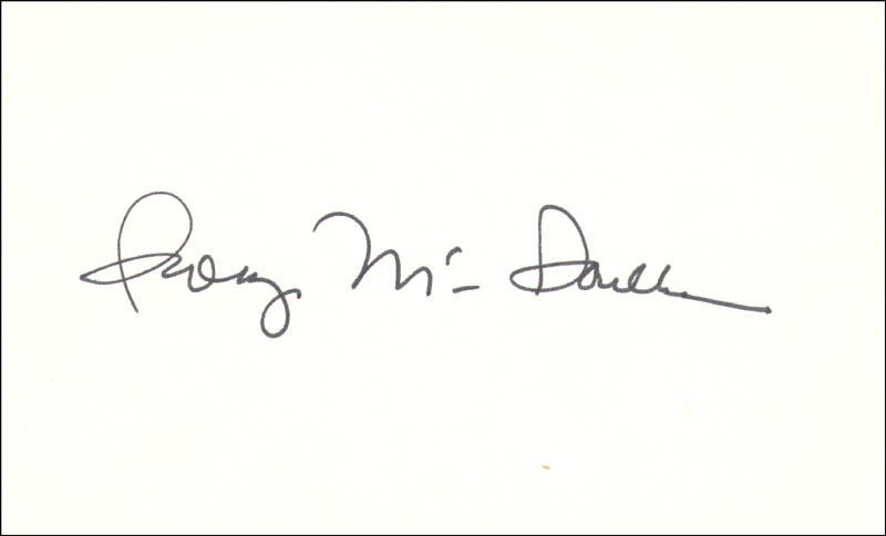 Image 1 for George Mcgovern - Autograph - HFSID 34625