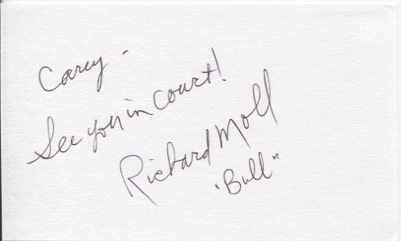 Image 1 for Richard Moll - Autograph Note Signed - HFSID 346294
