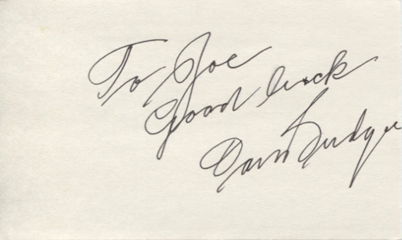 Image 1 for Don Budge - Autograph Note Signed - HFSID 346303