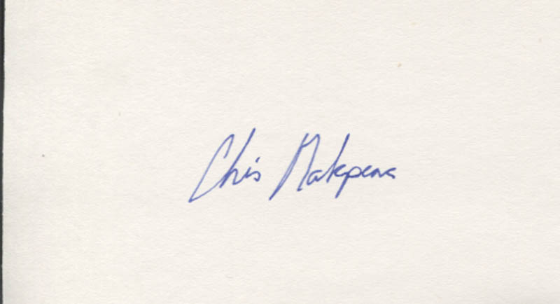 Chris Makepeace Autograph Historyforsale Item 346428 He is an actor and assistant director, known for meatballs (1979), my bodyguard (1980) and vamp (1986). chris makepeace autograph