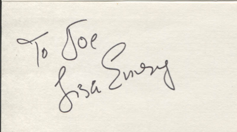 Image 1 for Lisa Emery - Inscribed Signature - HFSID 346472