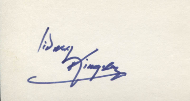 Image 1 for Sidney Kingsley - Autograph - HFSID 346945